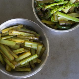 Stir-fried Celery
