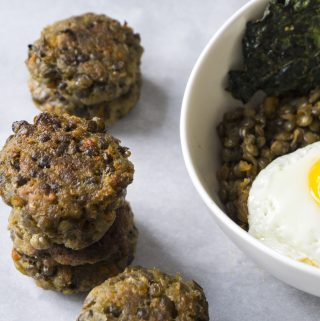 French Lentil Patties