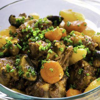 Korean Style Oxtail Stew