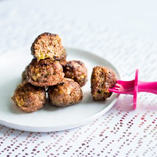 Soy Sauce Honey Meatballs