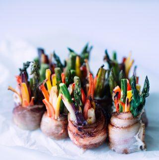 Bacon Veggie Roll