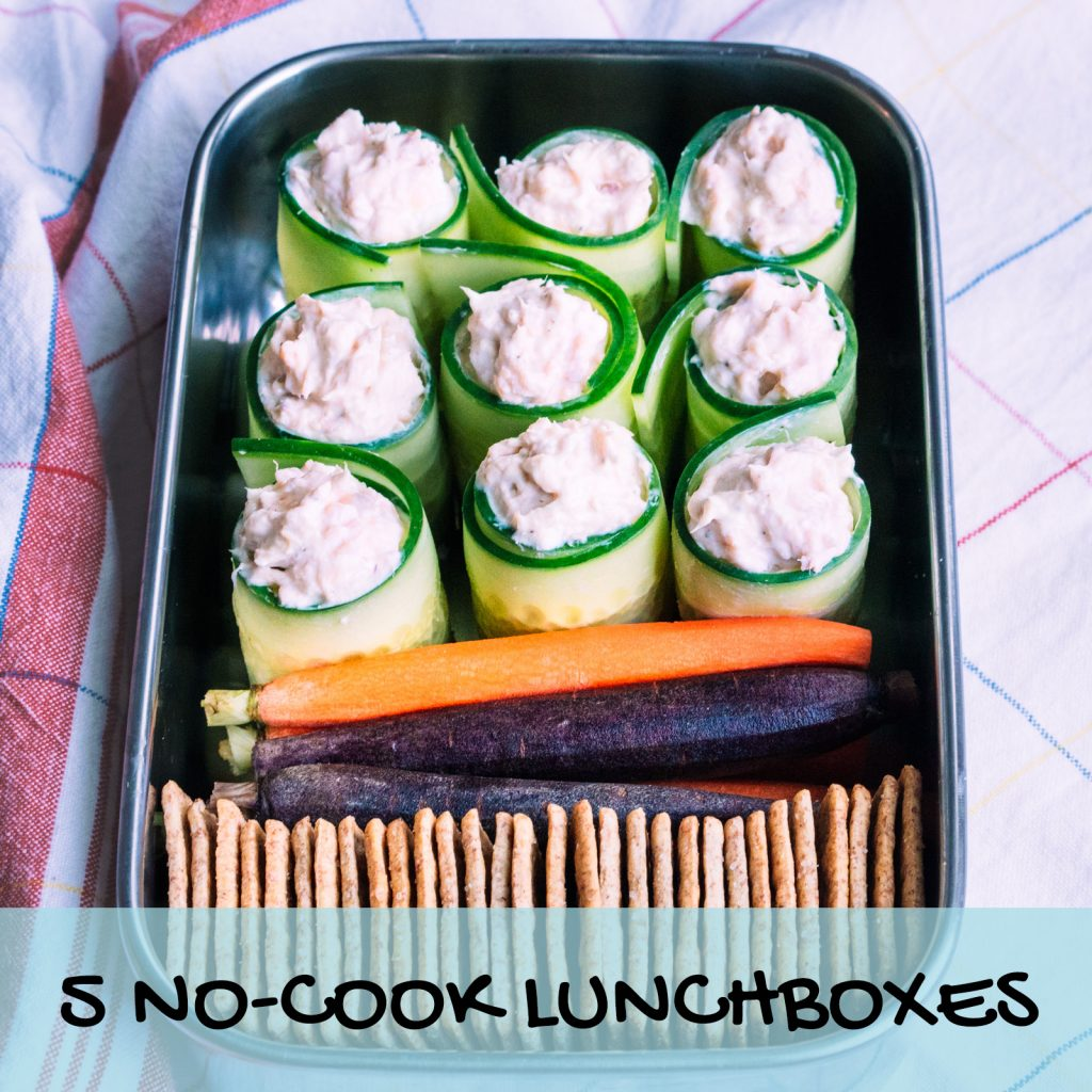5 No-Cook Lunchboxes