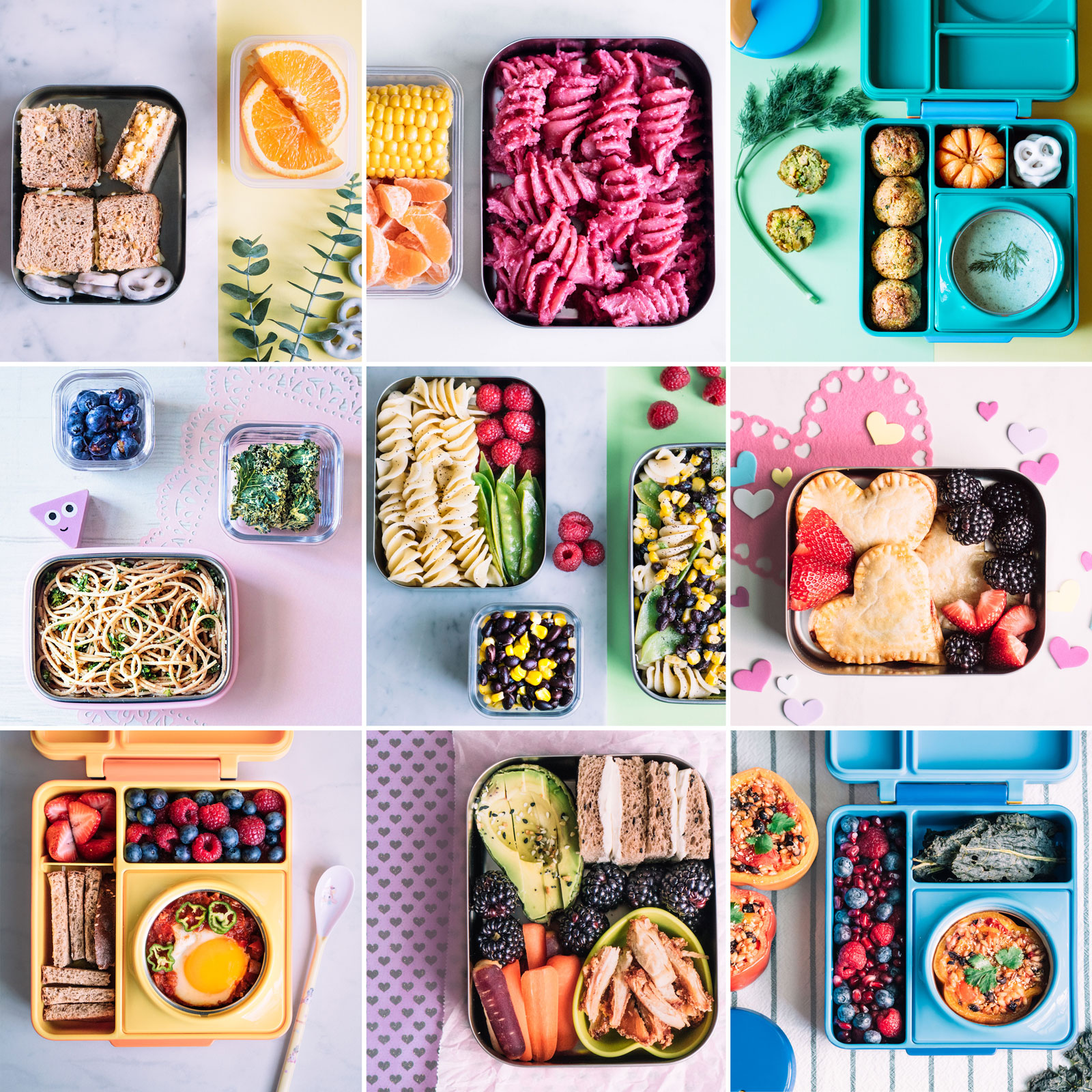 9 creative toddler school lunches