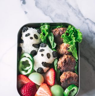 My first pandas in the lunchbox
